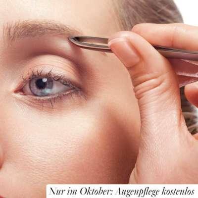 Augenpflege im Oktober kostenlos